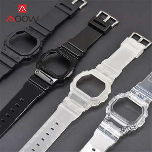 Rubber Watchband Case Bracelet Replacement-Band DW-5600 GW-M5610 G-5000 G-Shock Casio