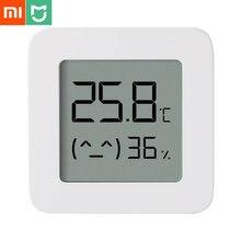 Xiaomi Mijia – thermomètre intelligent 2, écran LCD, numérique, Bluetooth, capteur de température et d'humidité, application Mijia, vente en gros