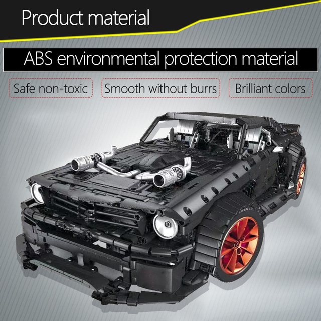 3168pcs City Diy Sports car Model Bricks For RC/non-RC Technic Racing Car Led Light MOC Building Block Toys for Kids