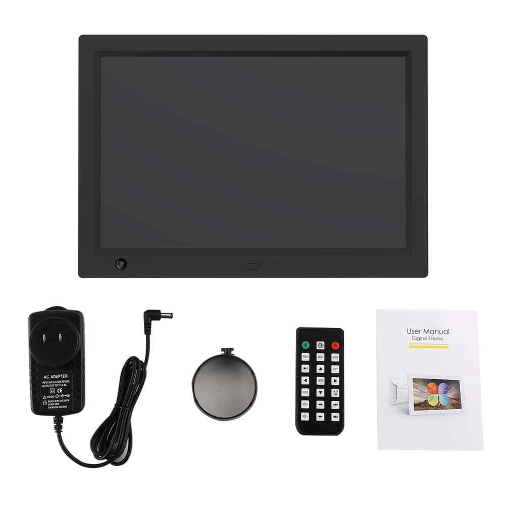 12 inch HD LCD Digital Photo Frame & Commercial Advertising Machine Human Sensor Video Player with Remote Control