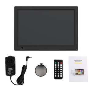 Video-Player Advertising-Machine Digital-Photo-Frame 12inch LCD HD with Remote-Control