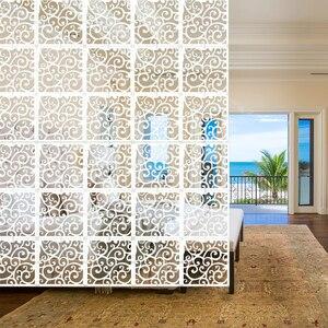 Décoration intérieure 5 pièces/lot   Affichage de grue, grue grue à diaphragme, Art et décor de fils de bois et de plastique blanc, diviseur de pièce