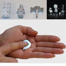 Brinquedo mágico gálio metal 99 99% purity10g 20g 5g 10g gálio elemento baixo ponto de fusão metal mágico educacional brinquedo diy