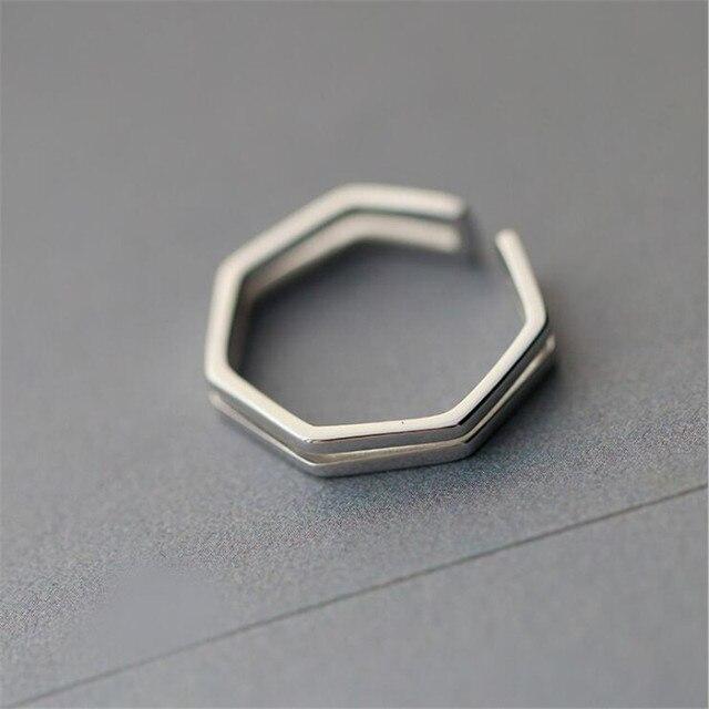 Новые простые ювелирные изделия из стерлингового серебра 925