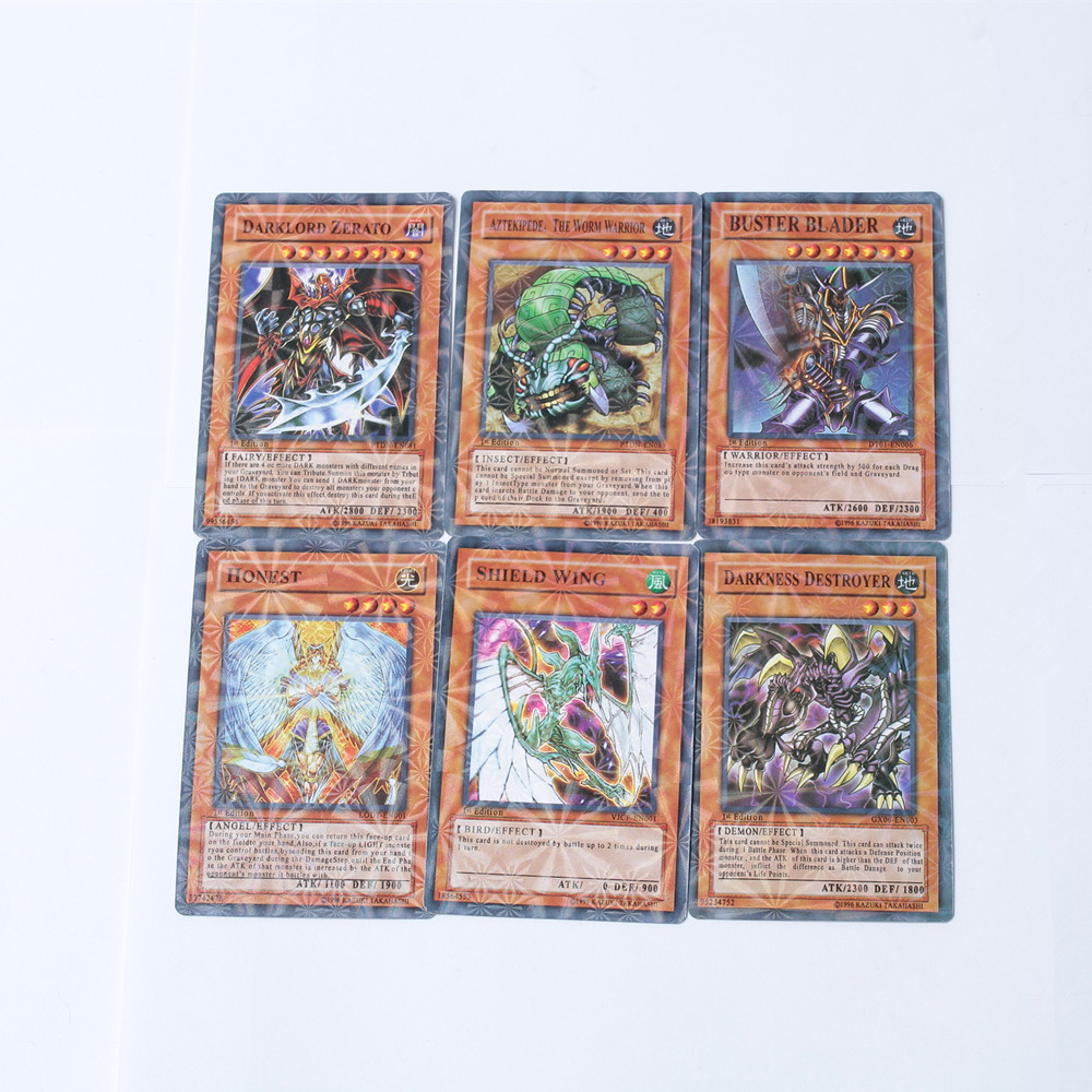 8 Pieces No Repeat Cartoon Oh YU GI  Play Card Card Collection Boys Duel Monsters Board Role-playing Games Paper Cards Fantasy
