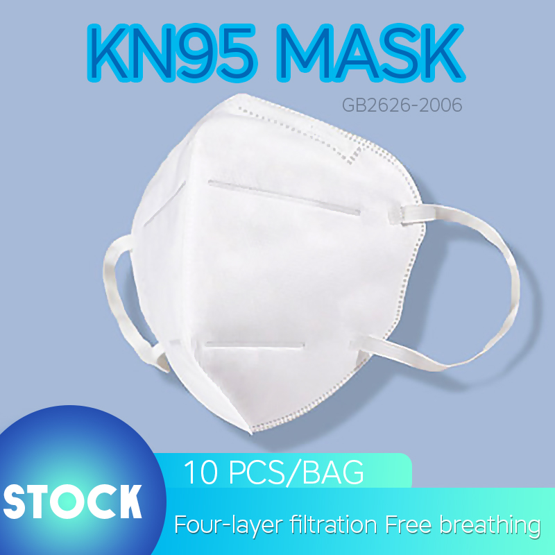 10PCS KN95 PM2.5 Mask White CE N95 Mouth Masks Dust-proof Anti Pollution Breathable Protective Mascherina