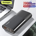 Essager Power Bank 20000 mAh USB Typ C PD QC 3,0 Power Tragbare Externe Akku Ladegerät Für Xiaomi 20000 mAh Poverbank