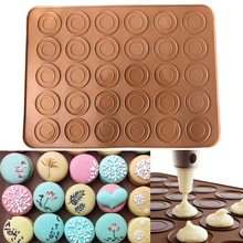 Pad Cake-Pad Pastry Baking-Tools Silicone Oven 30-Hole Macaron
