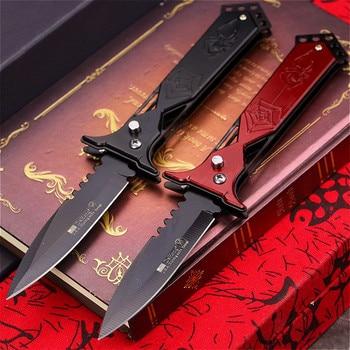 PEGASI PEGASI U.S classic 7CR18MOV steel S outdoor folding knife portable quick open sharp outdoor rescue folding knife EDC tool 1