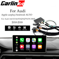 CarPlay for Audi Wired USB Connection A3/A4/A5/Q3/Q5/A6/A7 MMI 3G/3G+ muItimedia interface CarPlay & Android auto Retrofit Kit