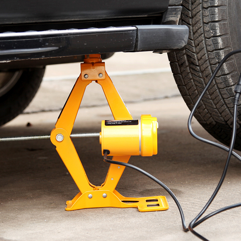 Jack Car Equipment 12v Electric Wrench Tool Electric Hydraulic Jack Car Repair Tools