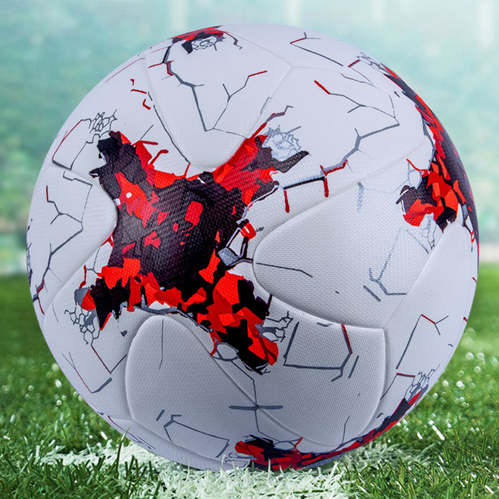 Professional Size 5Faux Leather Seamless Football Match Training Soccer Ball Football Match Training Soccer Ball Football Soccer