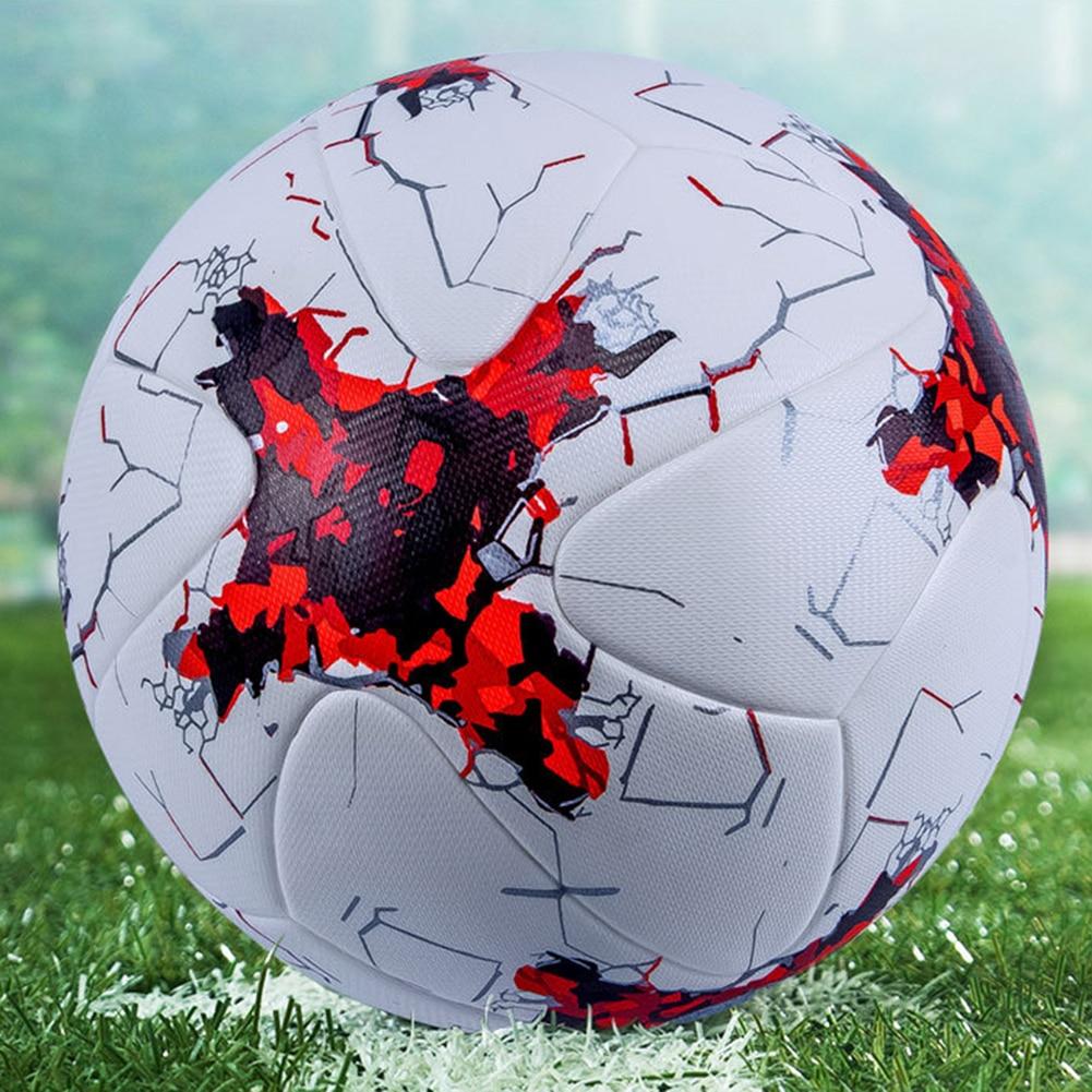 Professional Size 5Faux Leather Seamless Football Match Training Soccer Ball Football Match Training Soccer Ball Football Soccer