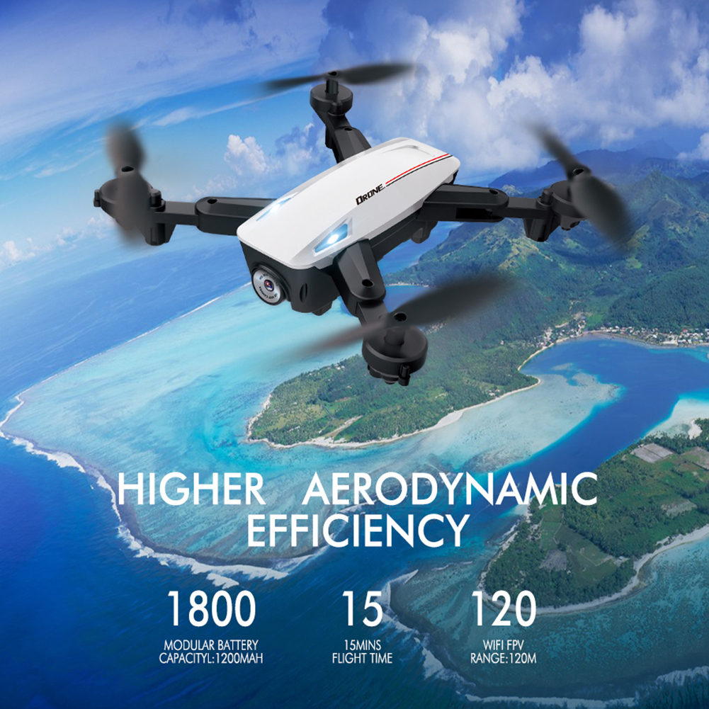 Mini Rc Drone D58 RC 4K 1080P HD Dual Camera WiFi FPV Air Pressure Altitude Hold Foldable Quadcopter Gps Dron For Boy Toys