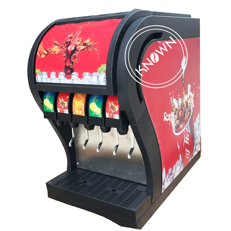 Large capacity food beverage shop store coke vending making machine 5 flavors cola filling machine factory price Food & Beverages Machines