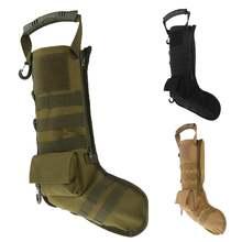 Тактические рождественские мешки для носков molle военные аксессуары