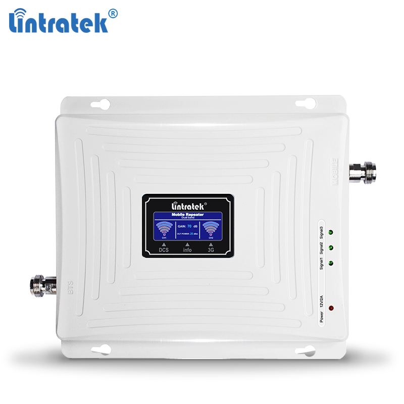 Lintratek 3G 4G Repeater 1800 2100Mhz Booster 3G 2100 Signal Booster 4G LTE 1800 Signal Amplifier Dual Band UMTS LTE KW20C-DW #5