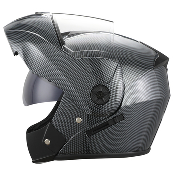2 Gifts Unisex Racing Motorcycle Helmets Modular Dual Lens Motocross Helmet Full Face Safe Helmet Flip Up Cascos Para Moto kask 15