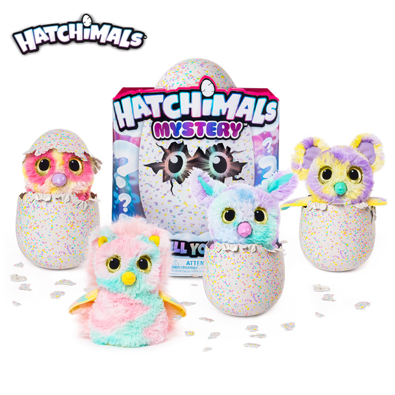 Genuine Hatchimals Mystery Hatching Electronic Plush Pet Smart Interactive Pet Eggs Surprise Doll Blind Box Creative Toy Gift