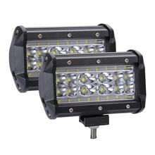 Adeeing 1pcs/2pcs 280W LED Car Lights 4 Rows 5inch 28000LM Work Light Bar Driving Lamp Headlights for Cars