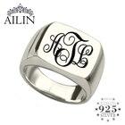 AILIN Silver Monogra...