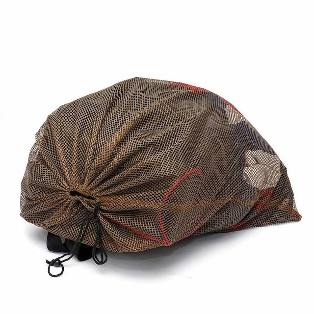 120cm x 75cm Duck Goose Turkey Decoy Bag Mesh With Shoulder Straps Bird Hunting Net Mesh for Hunting Backpack 5