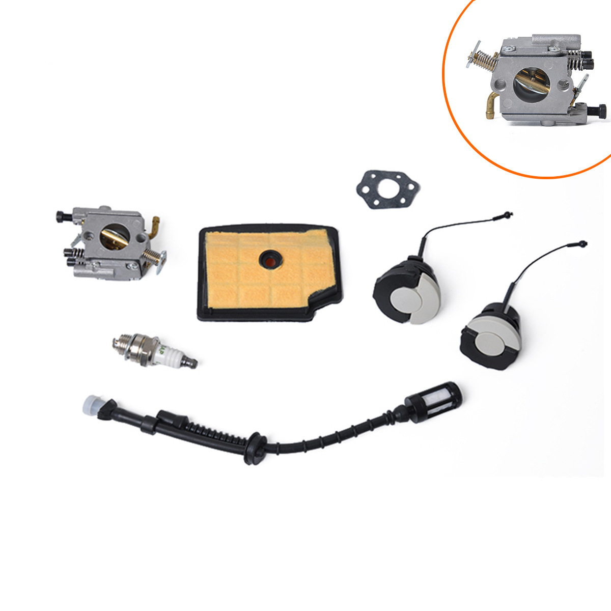 Carburetor For Stihl MS200 MS200T 020T MS 200 MS 200T Carb Chainsaw Carby For ZAMA C1Q S126B 1129 120 0653