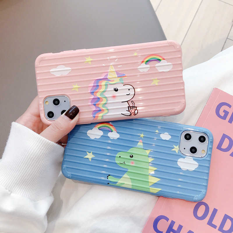 Cartoon dinosaur cases for Huawei P30Lite P20 Mate 20Pro 30 20X Nova 3 3i 4 5iPro Honor 8X 9X 9 10Lite 20 Pro Y9 2019 Cases