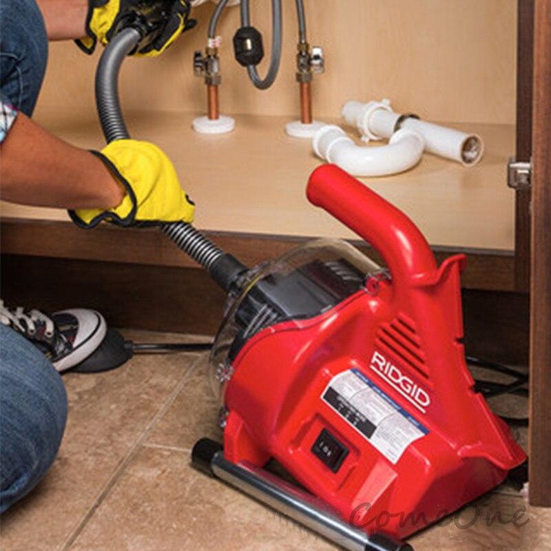 Toilet Dredge Through Sewer School Home Electric Pipe Dredging Machine Toilet Kitchen Block Artifact Tool