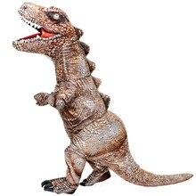 Yeni maskot T Rex dinozor şişme kostümler Purim cadılar bayramı Cosplay kostüm için yetişkin Anime partisi rol oynamak Prop Disfraz