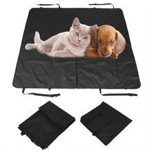 1pc cão assento de carro capa traseira assentos dobrável à prova dscratágua scratchproof hammock protector esteira cobertor volta assento almofada segurança