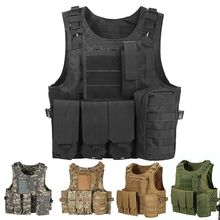 USMC Tactical Vest Plate Carrier Hunting Military Airsoft Gear Body Armor Army Vests Accessoris