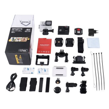 OUTAD 4K Ultra HD Wifi 30M Waterproof Action Camera 2  LTPS LCD Sports Camera 12.0 MP 170 Lens Angle HDMI Output Compact