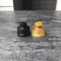 Vape accessori 510 Punta A Goccia Con Tappo Superiore E Anello Decorativo Kit per Haku Venna RDA lucido
