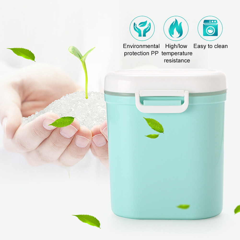 Container Toddler Sealed Large Capacity Baby Food Multiple Use Milk Powder Dispenser Kids Care Storage Box Portable Organizer