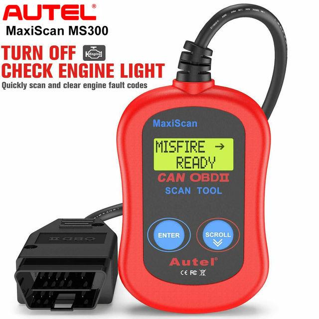 Autel MaxiScan MS300 OBD2 סריקת כלי אבחון סורק Ferramentas Automotivas Para Carros