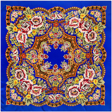 Écharpe dhiver en soie imprimée de marque de luxe, foulard carré, foulard carré, sergé Floral, Turban, grand bandeau, châle, nouvelle collection 2020