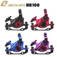 ZOOM XTECH-Pinzas de frenos de disco hidráulico de línea de tracción HB100 con rotores, 120/140/160MM, para patinete eléctrico MIJIA M365