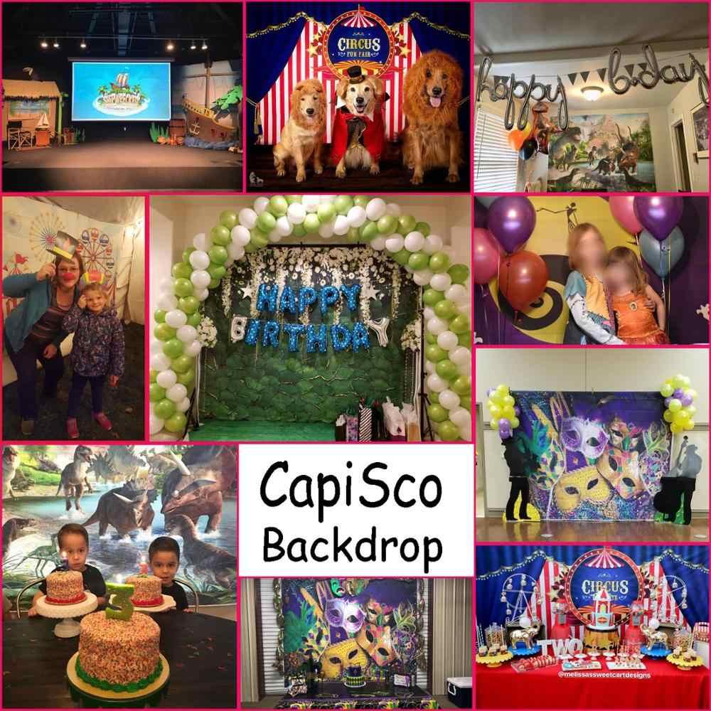 Capisco küçük denizkızı prenses altında yatak kale mercan fotoğraf Backdrop bebek duş doğum günü partisi fotoğraf arka plan