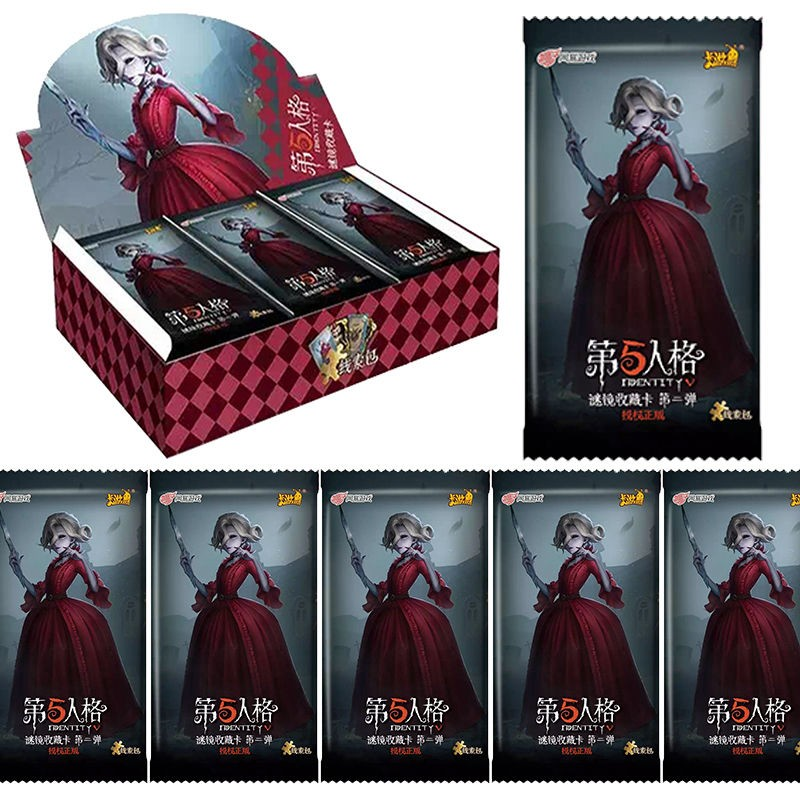 288pcs / Set Identity V Cards Clue Pack Game Kids Toys Girl Boy Collection Cards Christmas Gift Yo Gi Oh Fantasy & Sci-fi 1