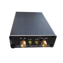 Frete grátis analisador de espectro ltdz 35 mhz-4400 mhz 4.4g fonte de sinal com fonte de rastreamento suporte winnwt4 + caixa de metal