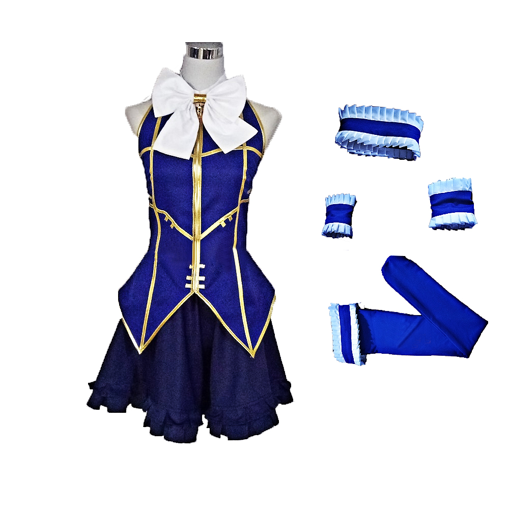 Fairy Tail Lucy Heartfilia Cosplay Costume Custom Made