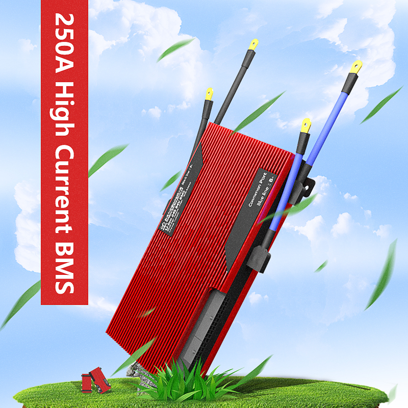 4S 8S 12S 15S 16S 20S 21S 26S 28S 32S BMS LiFePO4 battery Management System BMS 250A with high current for lithium battery