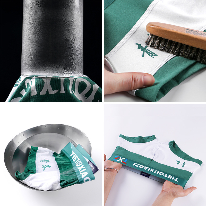 Tietouxiaozi men's underwear new style boxers pure cotton breathable comfortable underwear youth fashion brand Boxers 4