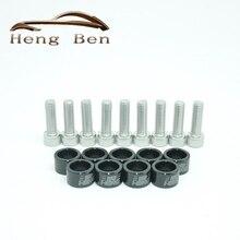 8 мм по JDM СТИЛЬ метрический коллектор чашки шайбы комплект различных для Civic B D F H K двигатели