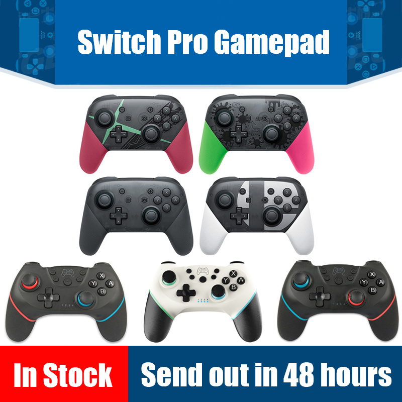 Bluetooth Wireless Controller For Switch Pro NS Splatoon2 Remote Gamepad For Nintend Switch Console Joystick Switch Pro NS