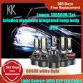 KR H7 светодиодный автомобильные аксессуары H7 светодиодный H4 H11 автомобильных ламп мини 9005 9006 фары лампы высокой Яркость H1 H8 H9 HB3 светодиодный ...