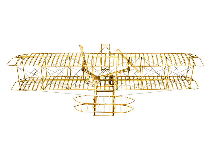 Wooden Toys Building Toys DIY Wood Christmas toys Craft Wood Furnishing Christmas Gift Present Wright Brothers Flyer I in Model Building Kits from Toys Hobbies