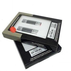 Image 2 - FURUTECH CF 102(R) Carbon Fiber High End grade RCA plug  demagnetization Handle Original box