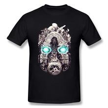 Borderlands 3 Teaser print casual mens o-neck tee shirt homme and fashion 100% Cotton Hip Hop Streetwaear T-Shirt
